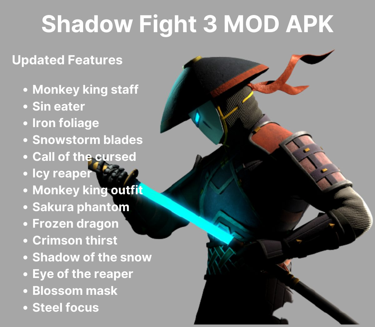 shadow fight 3 mod features